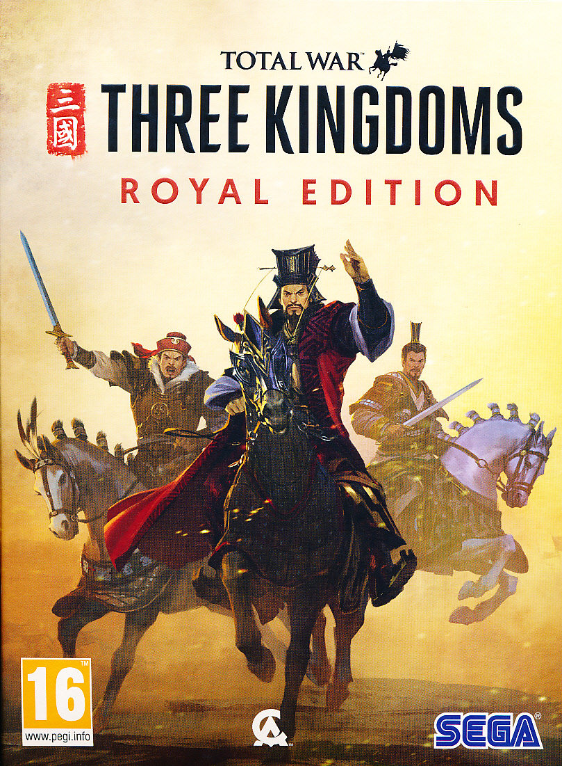 "Packshot for ""Total War Three Kingdoms Royal PC"""