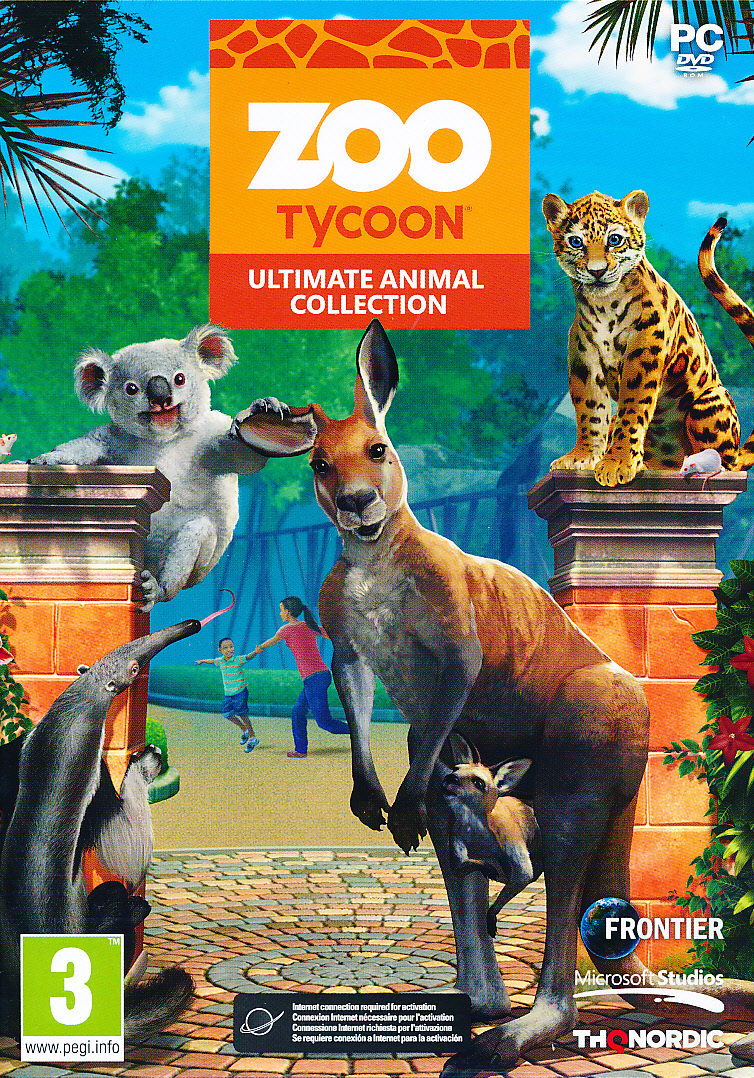 "Packshot for ""Zoo Tycoon Ultimate Animal Ed. PC"""
