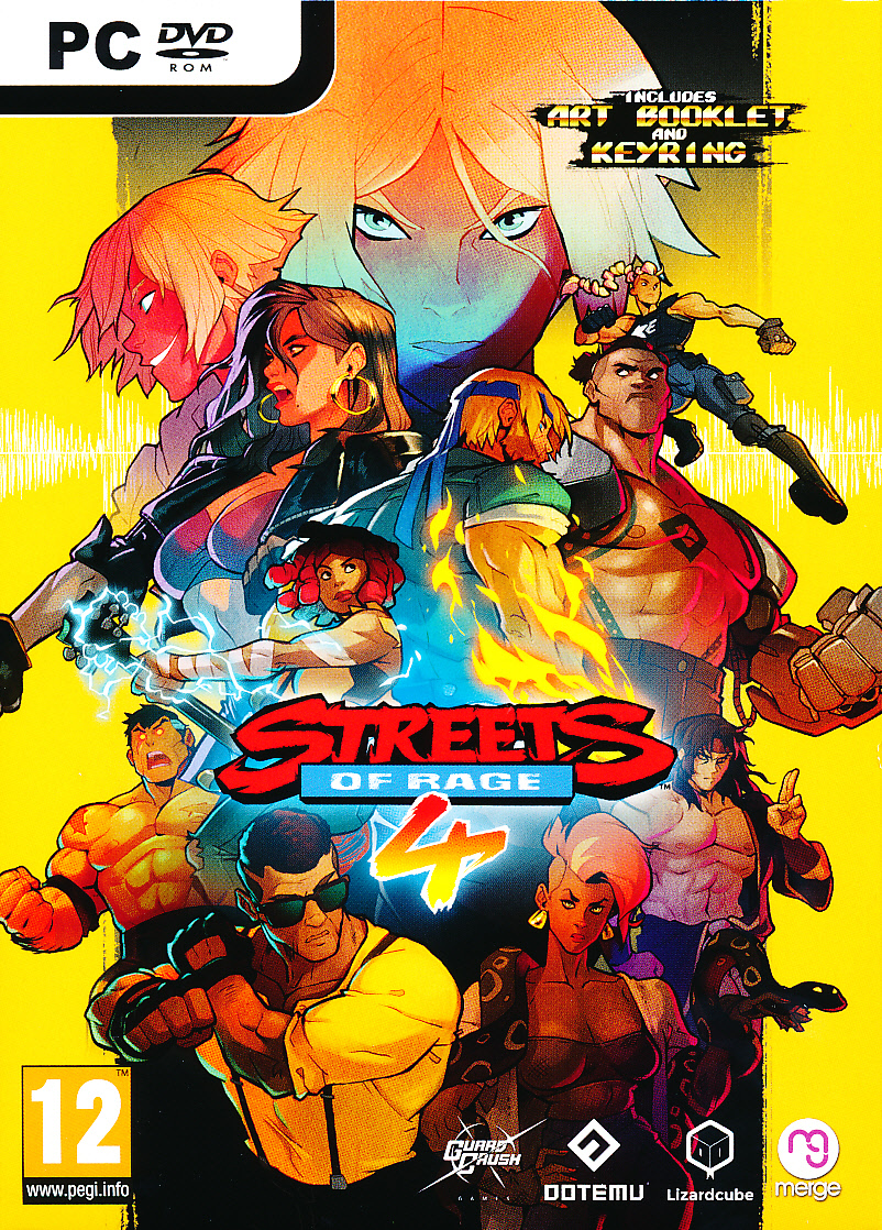 """Packshot for """"Streets of Rage PC"""""""