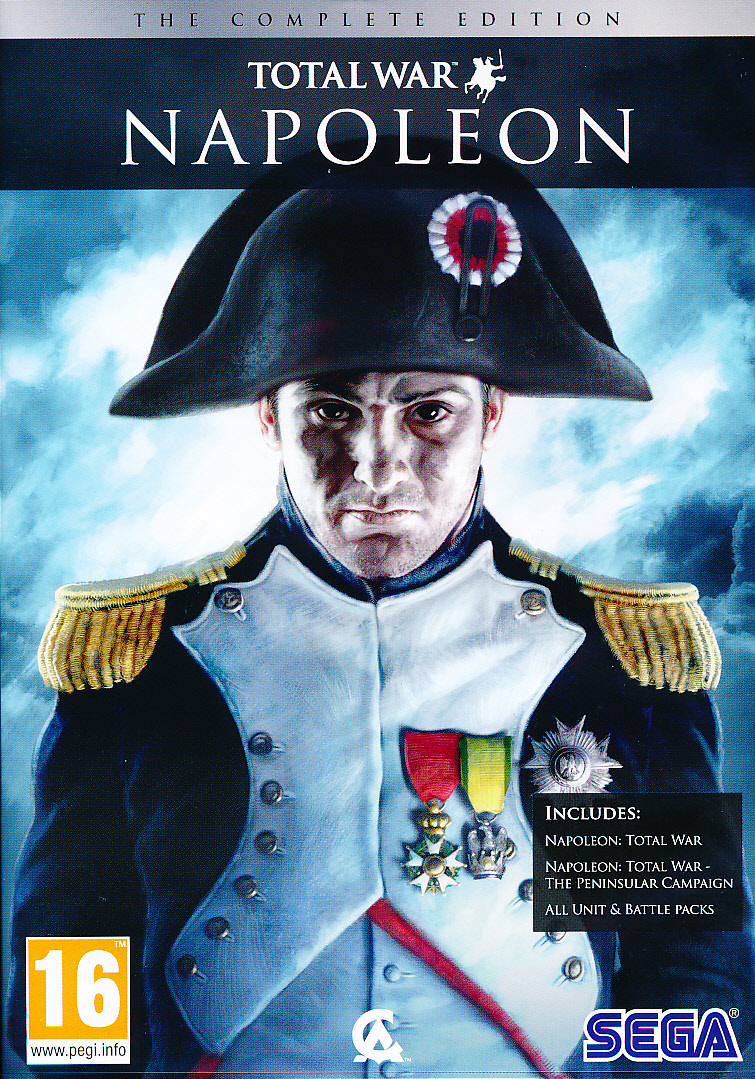 "Packshot for ""Napoleon Total War Complete Coll PC"""