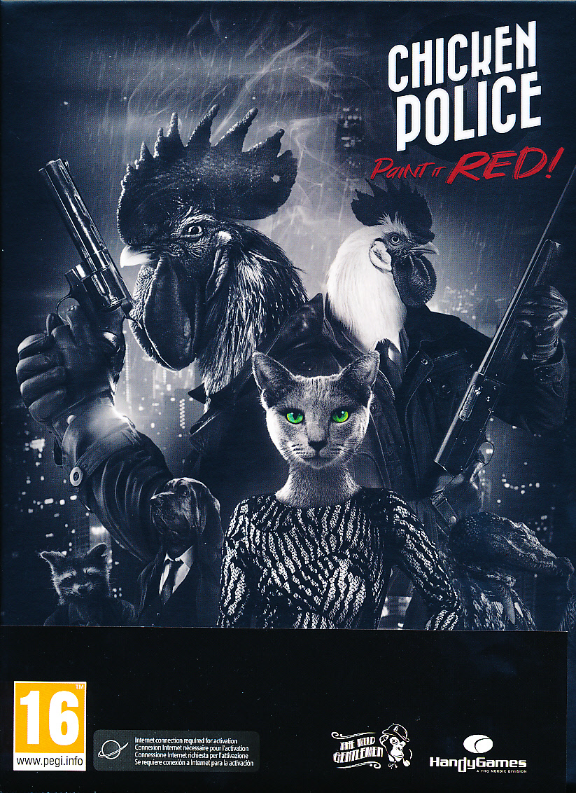 "Packshot for ""Chicken Police PC"""