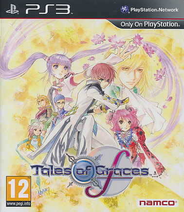 "Packshot for ""Tales of Graces F PS3"""