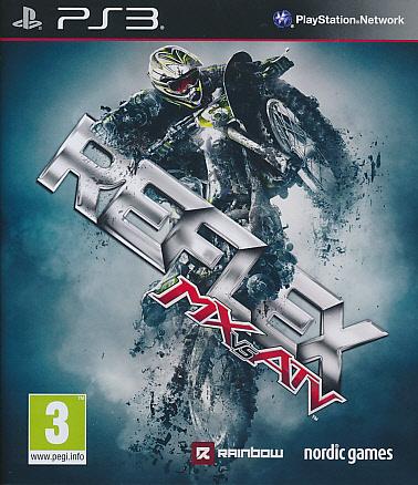 "Packshot for ""MX vs ATV Reflex PS3"""