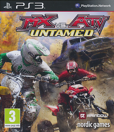 """Packshot for """"MX vs ATV Untamed PS3"""""""