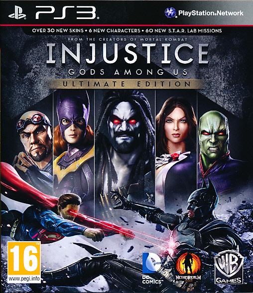 Injustice Gods Among Us Ult.Ed. PS3