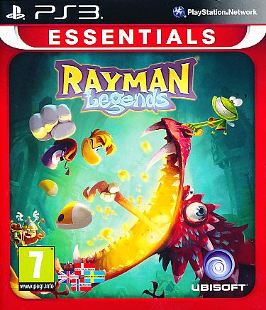 """Packshot for """"Rayman Legends Essentials PS3"""""""