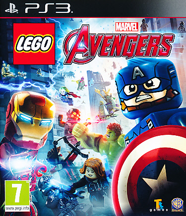 "Packshot for ""Lego Marvel Avengers PS3"""