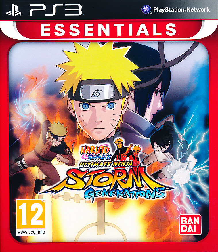 "Packshot for ""Naruto Shippuden UNS GenerationsPS3"""