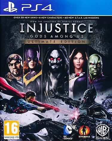 Injustice Gods Among Us Ult.Ed. PS4