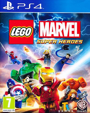 Lego Marvel Superheroes PS4