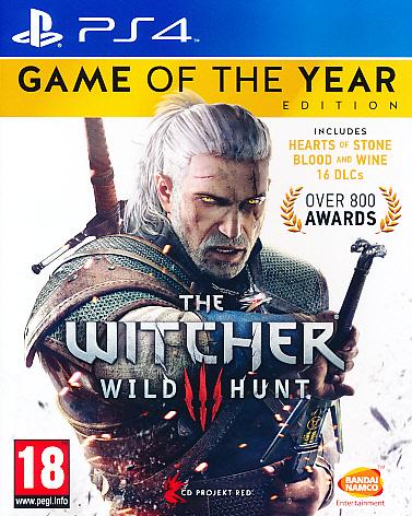 Witcher 3 Wild Hunt GOTY PS4