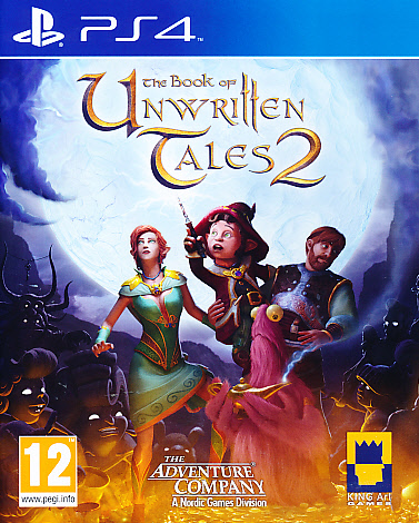 "Packshot for ""Book of Unwritten Tales 2 PS4"""