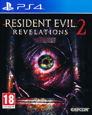 "Packshot for ""Resident Evil Revelations 2 PS4"""
