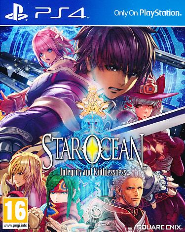 Star Ocean Integrity & Faith. PS4