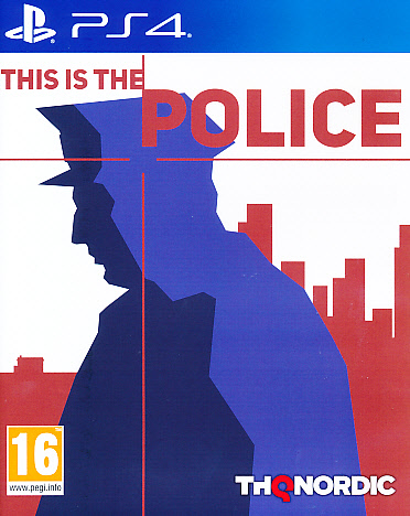 "Packshot for ""This is the Police PS4"""