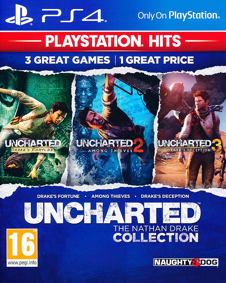 Uncharted Nathan Drake Coll. PS4