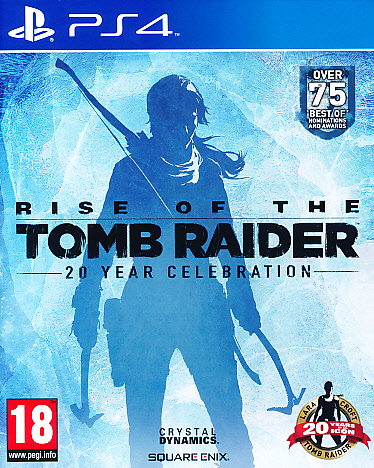 "Packshot for ""Rise of the Tomb Raider 20 Year PS4"""