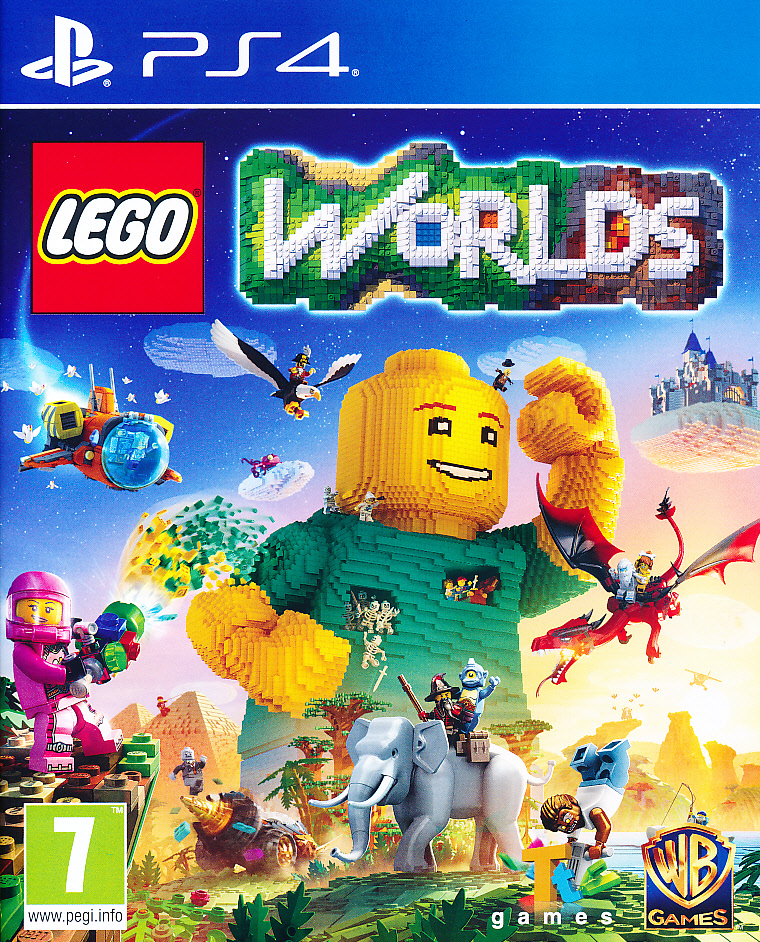Lego Worlds PS4 (laos)