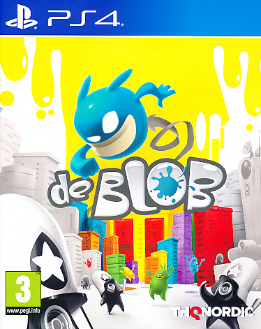 "Packshot for ""De Blob PS4"""
