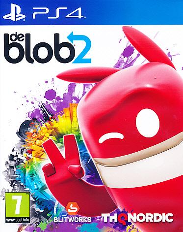 """Packshot for """"De Blob 2 PS4"""""""