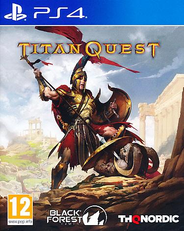 "Packshot for ""Titan Quest PS4"""