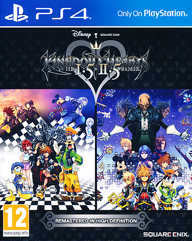 "Packshot for ""Kingdom Hearts HD 1.5/2.5 Remix PS4"""