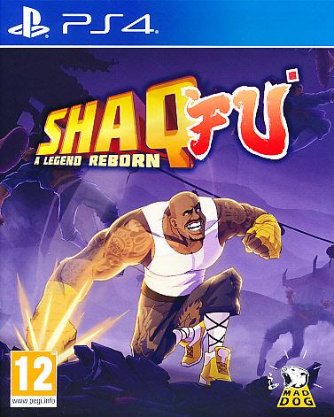"""Packshot for """"Shaq Fu A Legend Reborn PS4"""""""