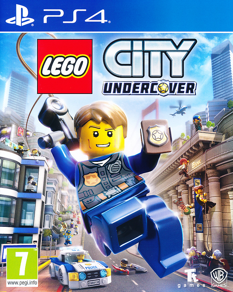 "Packshot for ""Lego City Undercover PS4"""