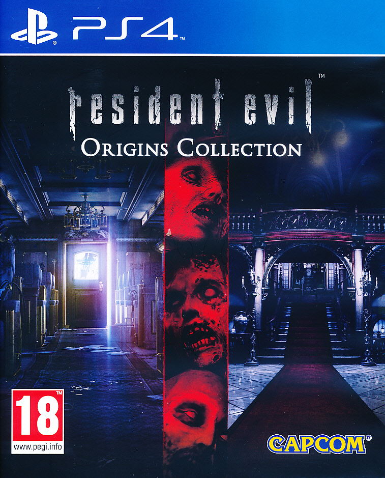 "Packshot for ""Resident Evil Origins Coll. PS4"""
