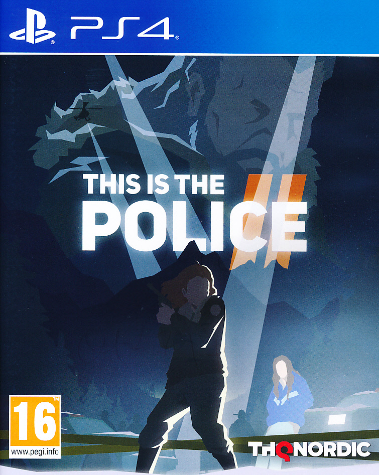 "Packshot for ""This is the Police 2 PS4"""