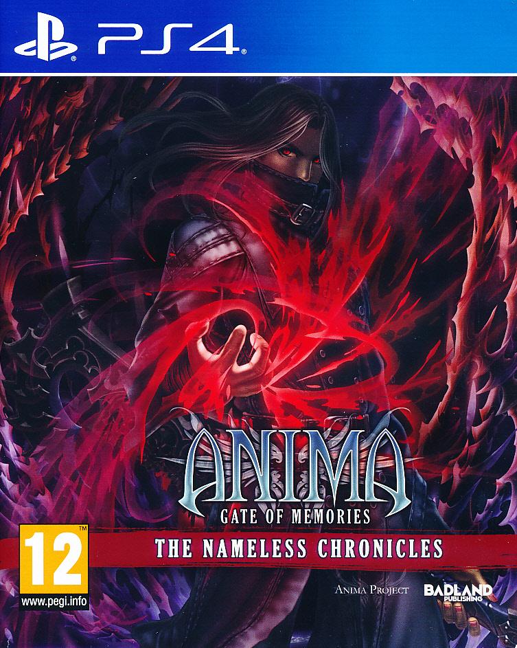 """Packshot for """"Anima GOM Nameless Chronicles PS4"""""""
