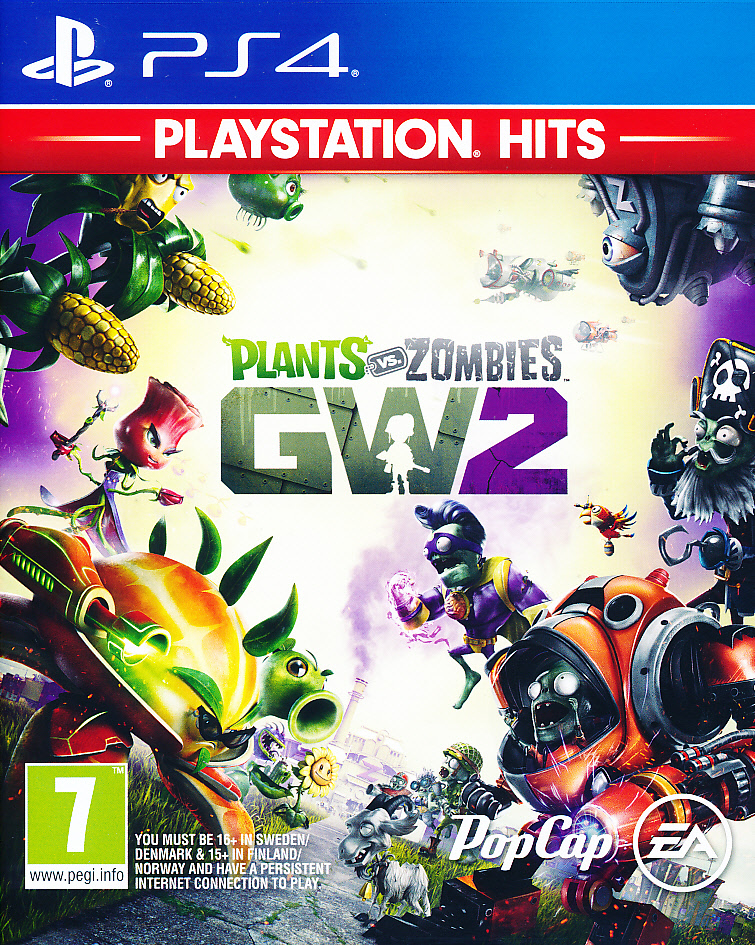 "Packshot for ""Plants vs Zombies GW2 NORD PS4"""
