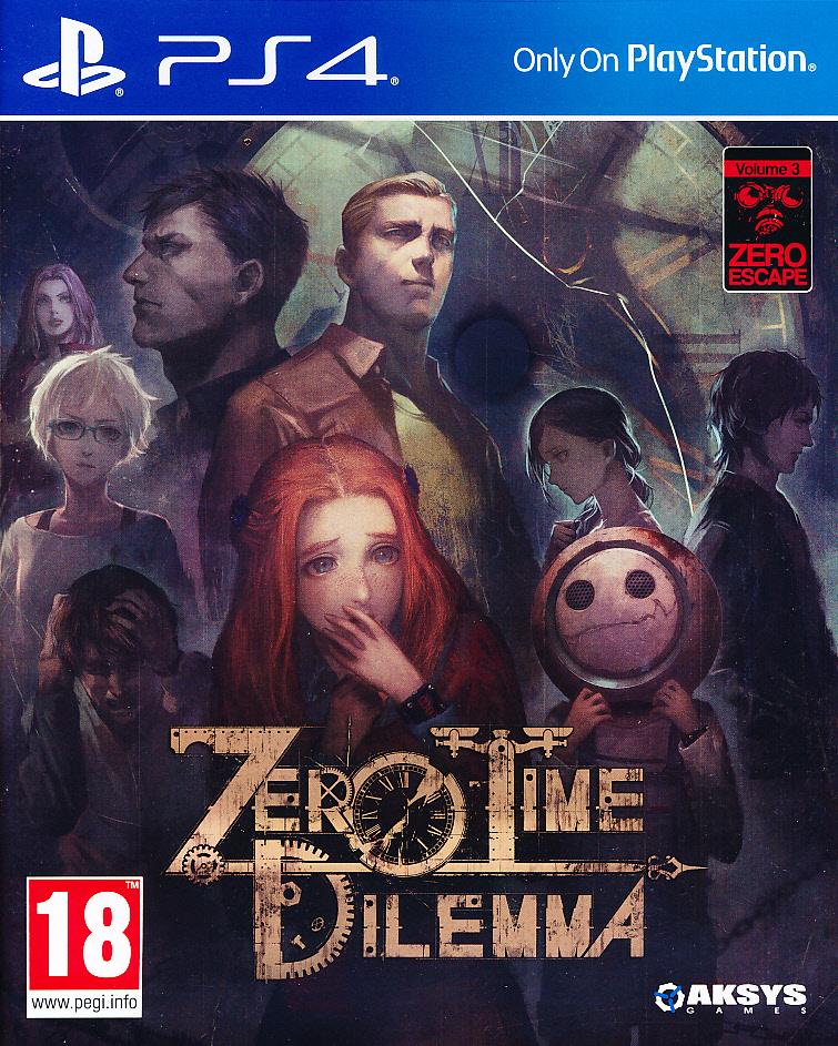 """Packshot for """"Zero Time Dilemma PS4"""""""