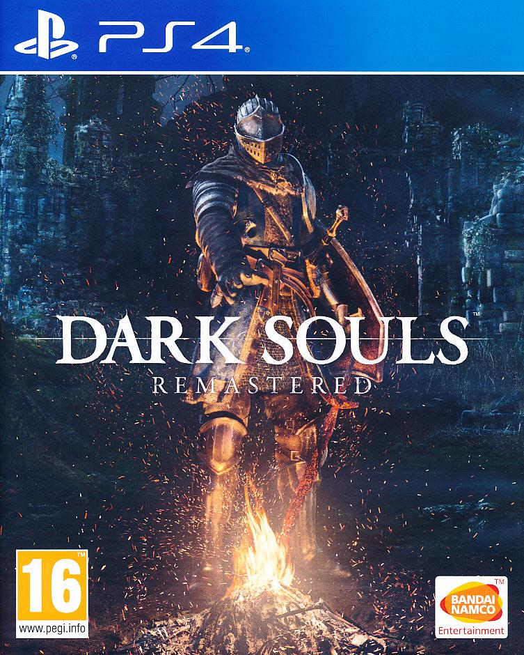 "Packshot for ""Dark Souls Remastered PS4"""