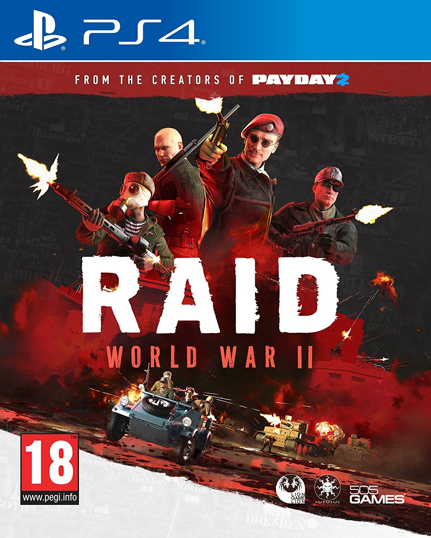 Raid World War 2 PS4