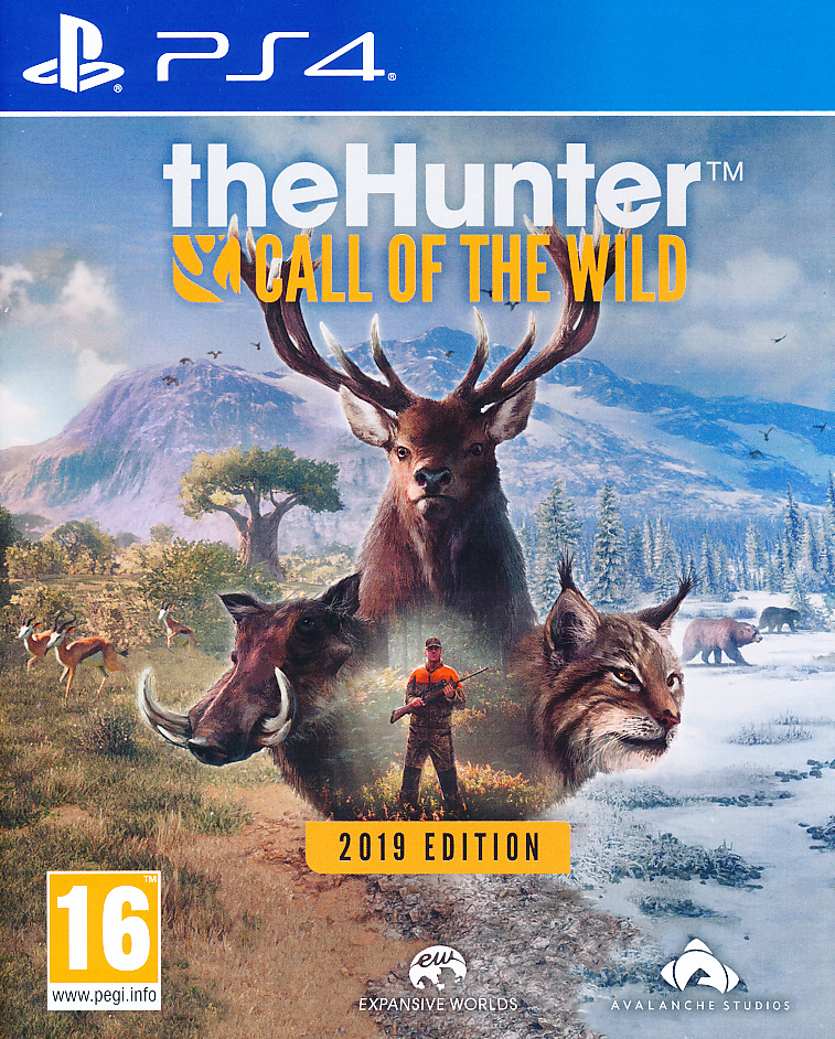 The Hunter Call of the Wild GOTYPS4