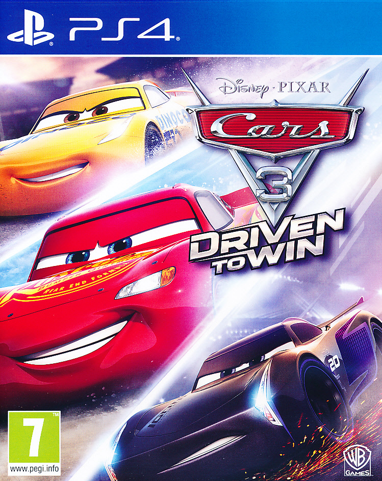 Cars 3 Driven to Win PS4 (laos)