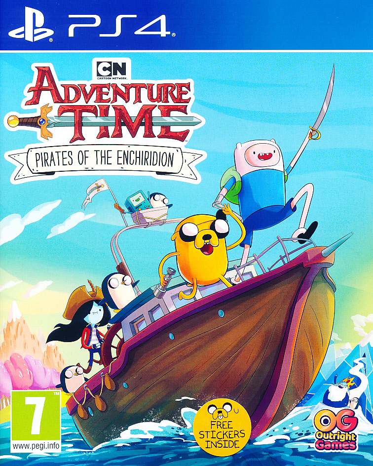 Adventure Time Pirates of Ench. PS4