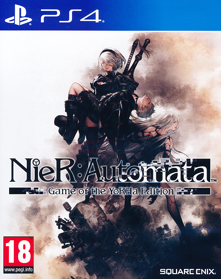 "Packshot for ""Nier Automata GOTY PS4"""