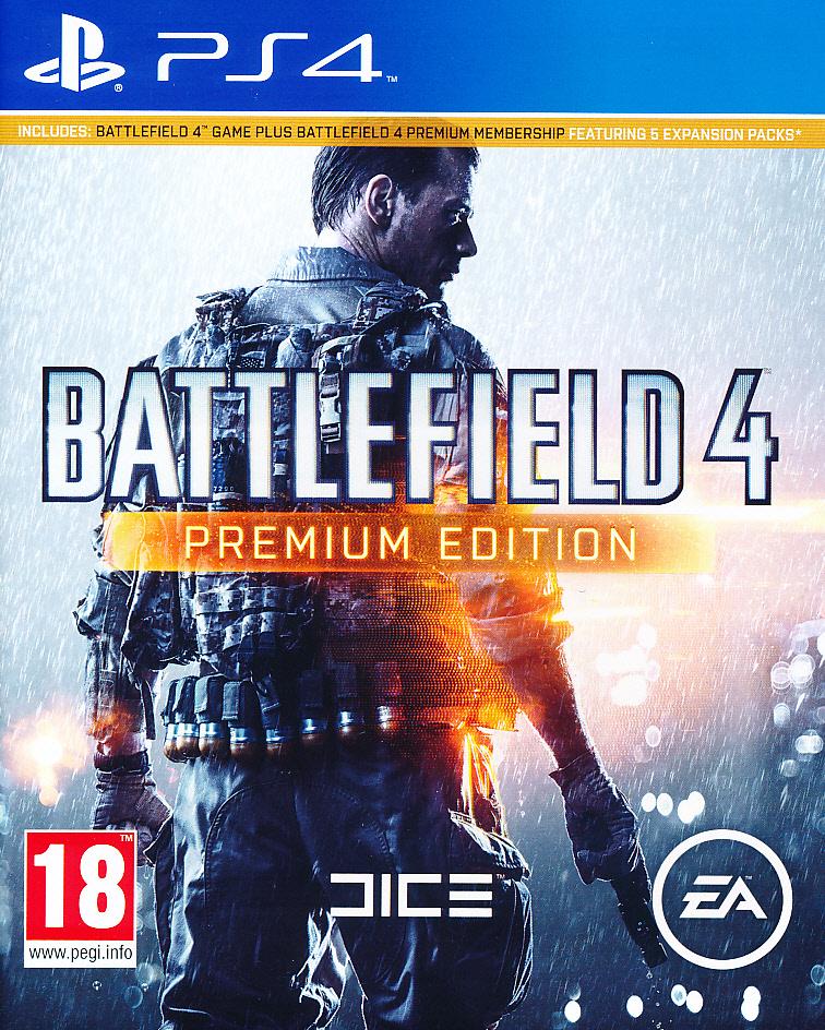 Battlefield 4 Premium Ed. PS4