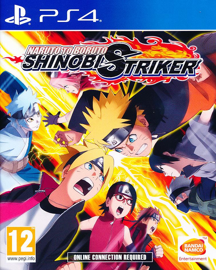 """Packshot for """"Naruto to Boruto Shinobi StrikerPS4"""""""