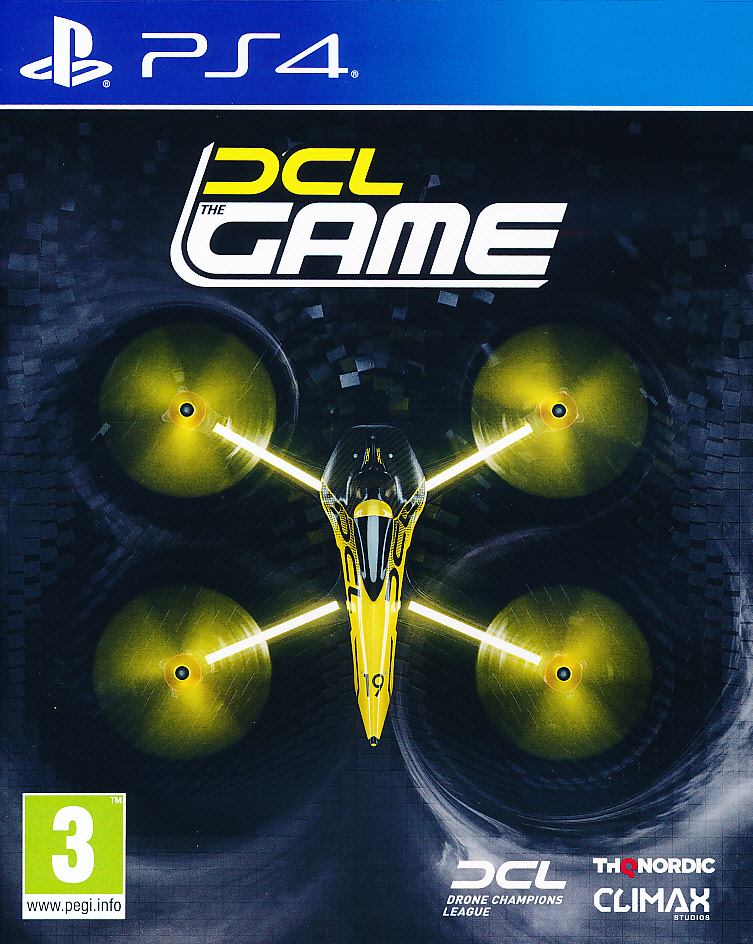 "Packshot for ""DCL Drone Championship League PS4"""