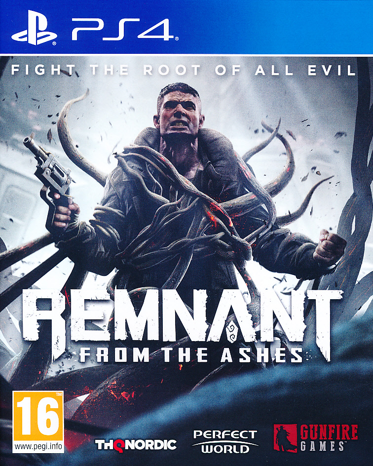 "Packshot for ""Remnant From the Ashes PS4"""