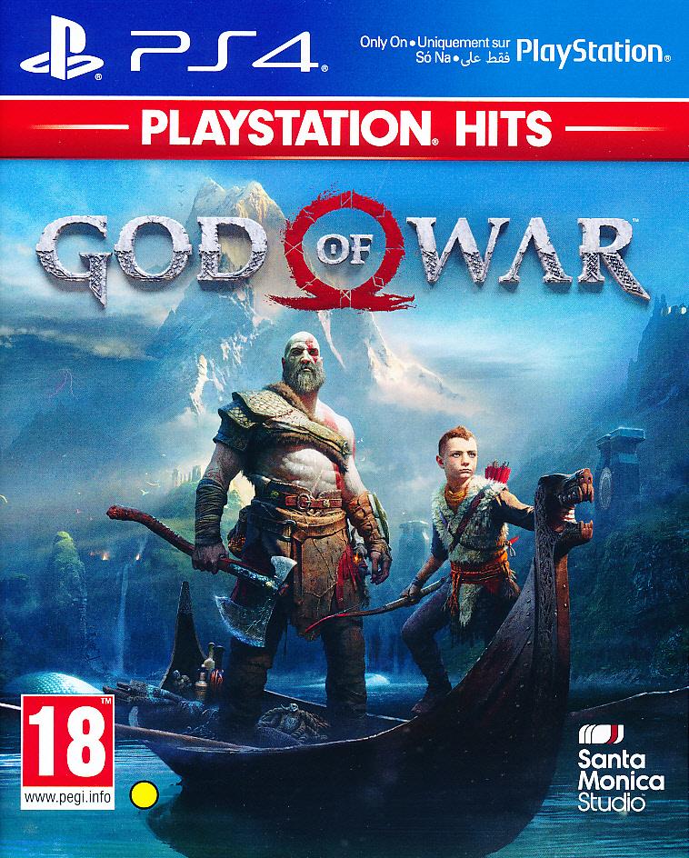 """Packshot for """"God of War PS4"""""""