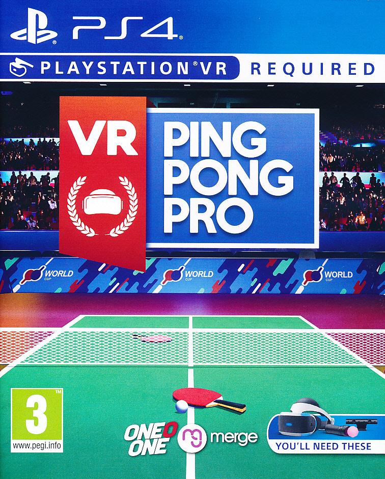 VR Ping Pong Pro PS4