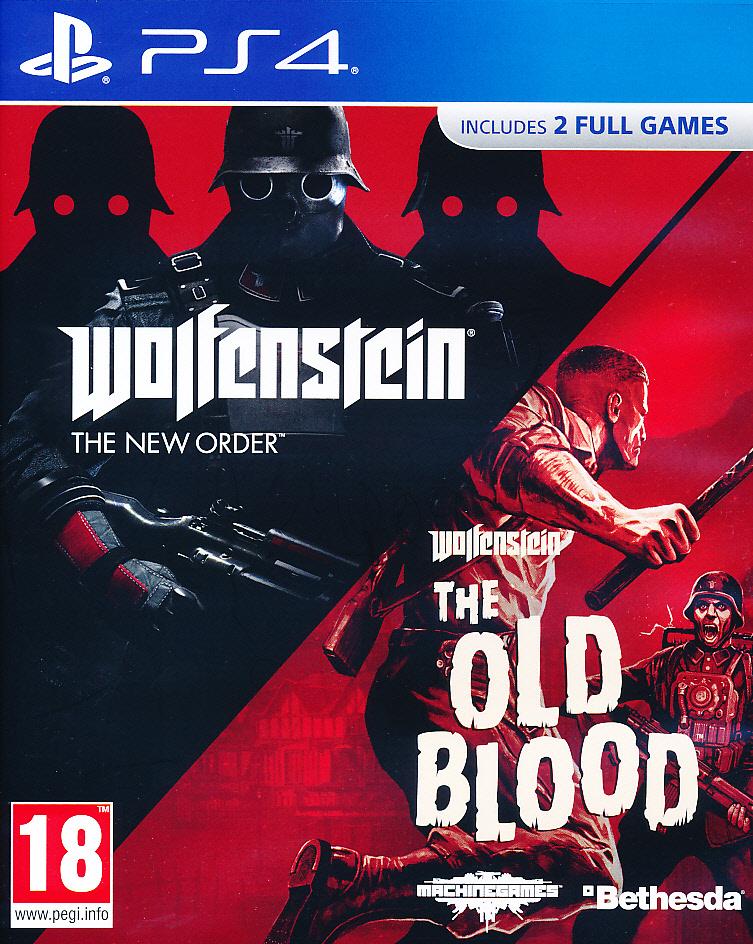 Wolfenstein New Order & Old Bl. PS4