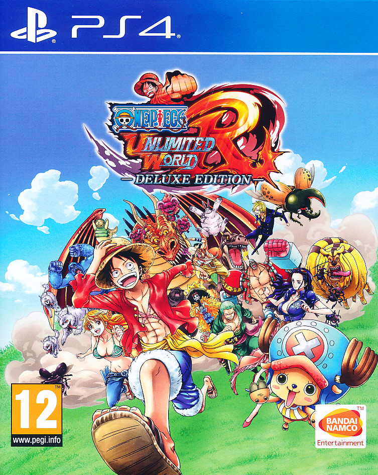 One Piece Unlimited World Red PS4