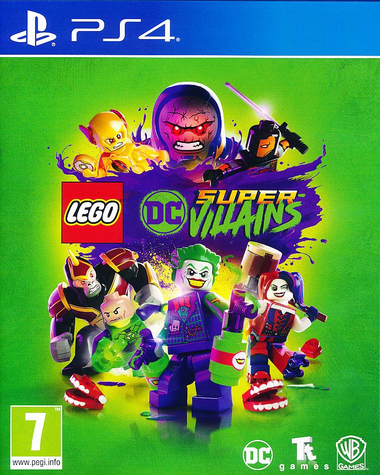 """Packshot for """"Lego DC Super Villains PS4"""""""