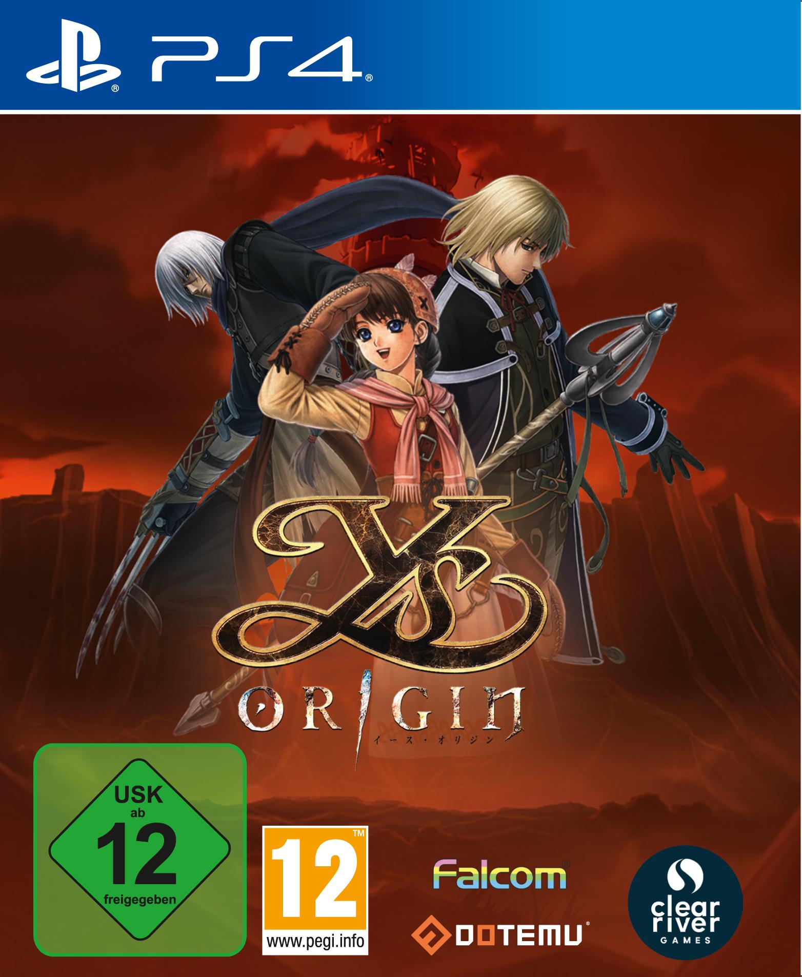 Ys Origin USK GER PS4