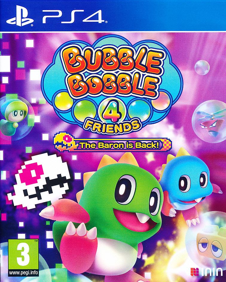 Bubble Bobble 4 Friends Baron isPS4